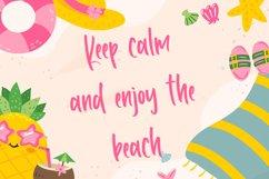 Happy Summer - Fun Handwritten Font Product Image 4