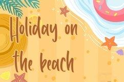 Web Font Happy Summer - Fun Handwritten Font Product Image 5