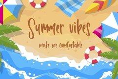 Web Font Happy Summer - Fun Handwritten Font Product Image 6