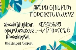Web Font Happy Vacation - Summer Happy Font Product Image 5