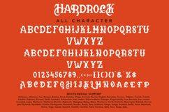 Hardrock - Blackletter Typeface Font Product Image 3