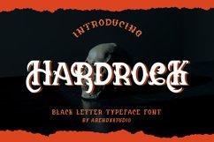 Hardrock - Blackletter Typeface Font Product Image 1