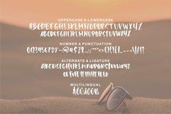 Web Font Harielo - Handwritten Font Product Image 5