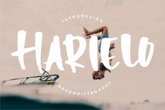 Harielo - Handwritten Font Product Image 1