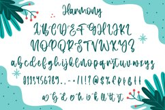 Harmony - Christmas Display Font Product Image 6