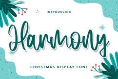 Harmony - Christmas Display Font Product Image 1