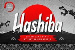Hashiba - Japanese Font Product Image 1