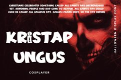 Haunting Bones - Halloween Display Font Product Image 3