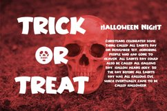 Haunting Bones - Halloween Display Font Product Image 6