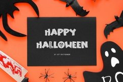 Web Font Haunting Bones - Halloween Display Font Product Image 6