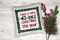 Christmas Cat Sublimation Design | Have a Meowy Christmas Product Image 2