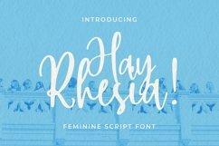 Web Font Hay Rhesia Product Image 1