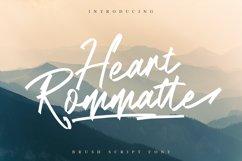 Heart Rommatte - Script Font Product Image 1