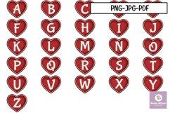 Puffy Heart Monogram Product Image 1