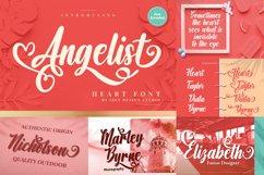 Heart Font Bundle Product Image 4