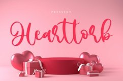 Web Font Hearttorb - Love Font Product Image 1