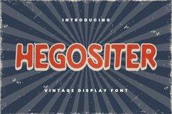 Web Font Hegositer Font Product Image 2