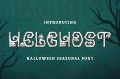 Web Font Helghost Font Product Image 1
