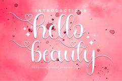 Hello Beauty Font Product Image 1