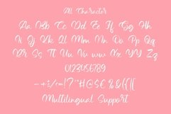 Web Font Hello Beloved - Lovely Handwritten Font Product Image 4
