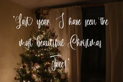 Hello Burdette - Christmas Calligraphy Font Product Image 5