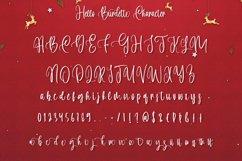 Hello Burdette - Christmas Calligraphy Font Product Image 6