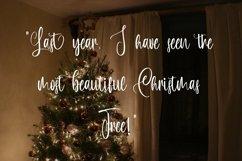 Web Font Hello Burdette - Christmas Calligraphy Font Product Image 5