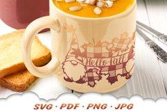 Hello Fall Gnome SVG Files For Cricut Product Image 4