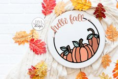 Fall / Autumn SVG Bundle of 24 Designs | Sign Making SVG Product Image 5