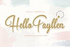 Web Font Hello Fayllen - Valentines Font Product Image 1