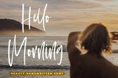 Hello Morning - Beauty Handwritten Font Product Image 1