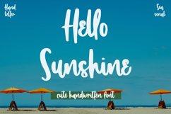 Hello Sunshine - Cute Handwritten Font Product Image 1