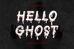 Web Font Helloghost - Halloween Font Product Image 1