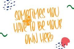Heroism Theory - Cute Handwritten Product Image 3