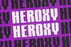 Heroxy Textured Display Sans Serif Font Product Image 1