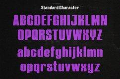 Heroxy Textured Display Sans Serif Font Product Image 3