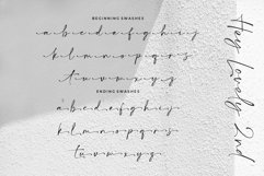 Hey Lovely - Chic Calligraphy Product Image 4