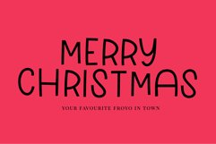 Hey Snow - a sweet display font Product Image 3