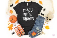 HAUNTED FOREST Creepy Halloween Font Product Image 5