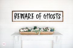 HAUNTED FOREST Creepy Halloween Font Product Image 4