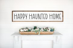 HAUNTED HOUSE Spooky Halloween Font Product Image 6
