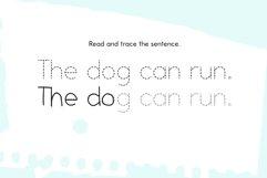 School Days Dash - Handwriting Practice Font Product Image 3