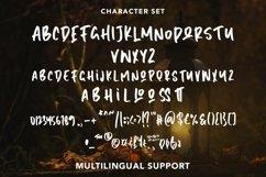 Web Font HiddenDarkness - Cool Handletter Font Product Image 5