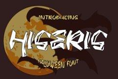 HISERIS - Halloween Horror Font Product Image 1