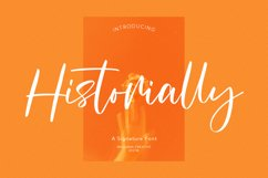 Historially Signature Font Product Image 1
