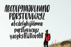 Web Font Hitchikes - Handlettered Font Product Image 5
