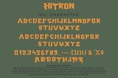 Hitron - Blackletter Typeface Font Product Image 4