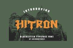 Hitron - Blackletter Typeface Font Product Image 1