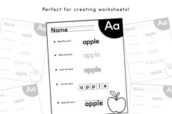 School Font Bundle - Easy to Read and Trace Fonts Product Image 5