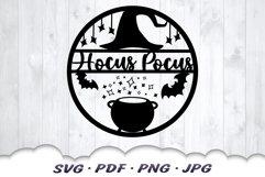 Halloween Hocus Pocus SVG Cut Files Product Image 3